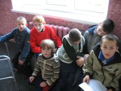 Carpathian pupils in special school-shelter of BorysLOVE